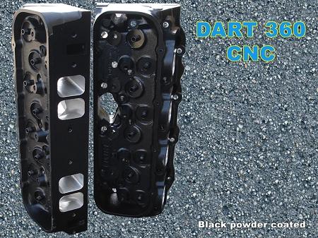 Dart 370 Race Series CNC FULL PORT Aluminum Heads for Big Block Chevy