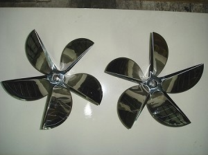 17.5 X 37 16° Hering Propellers CNC