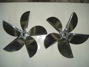 18 X 36 Hering 5 Blade CNC Propellers