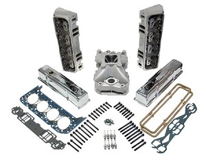 Small Block Chevy Top End Kits w/ Iron Eagle Heads